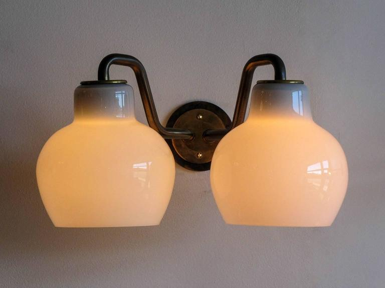 Pair of Vilhelm Lauritzen Double Wall Lights 8