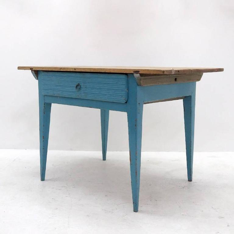 Swedish rustic kitchen table 1900 for sale at 1stdibs - Rustic kitchen tables for sale ...