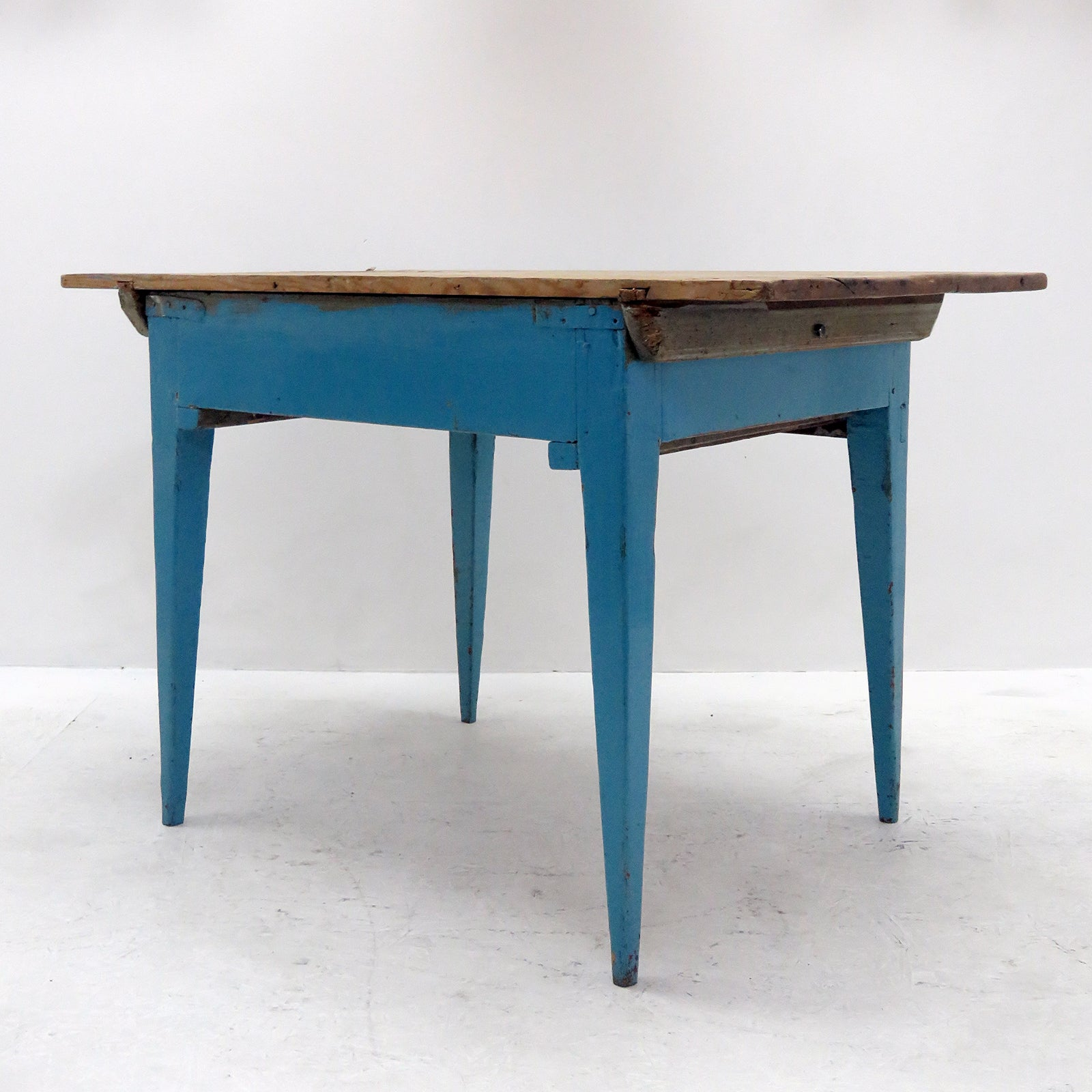 Swedish Rustic Kitchen Table, 1900 For Sale at 1stdibs