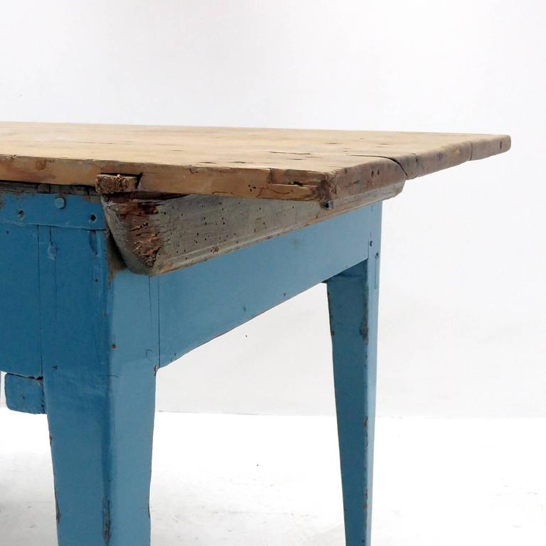 Rustic Kitchen Tables For Sale: Swedish Rustic Kitchen Table, 1900 At 1stdibs