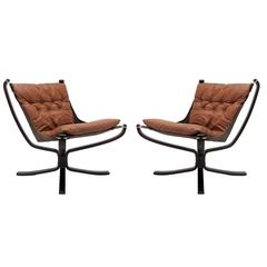 Falcon Chairs by Sigurd Resell for Vatne Møbler