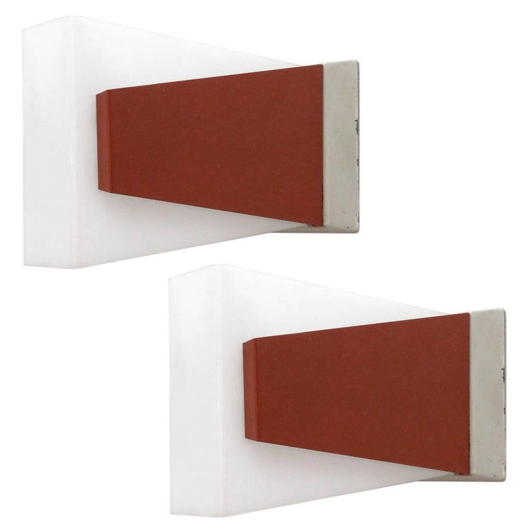 Geometric philips wall lights for sale at 1stdibs geometric philips wall lights for sale aloadofball Choice Image