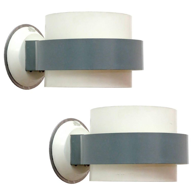 Pair of Philips Sconces For Sale