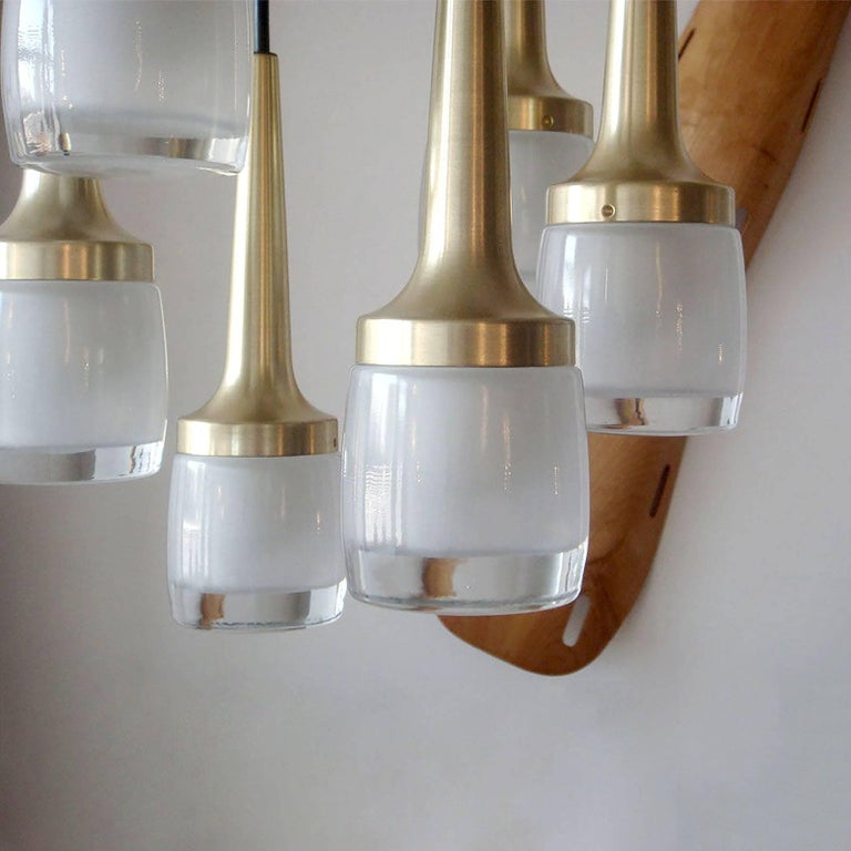Six-Light Hanging Fixture by Staff of Germany 3