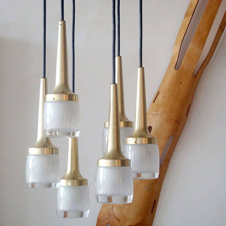 Six-Light Hanging Fixture by Staff of Germany 2