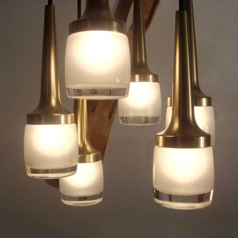 Six-Light Hanging Fixture by Staff of Germany 7