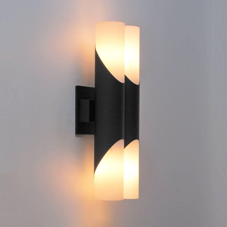 Pair of German Double Wall Lights 8
