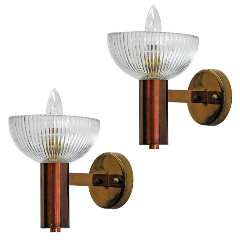 Pair of Stilnovo Wall Lights