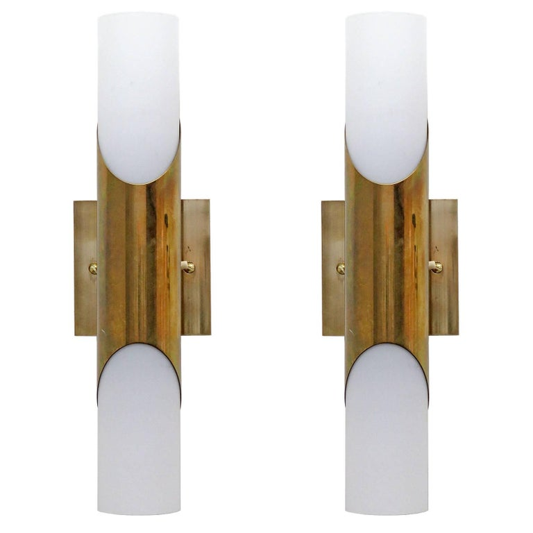 Pair of Wall Lights by Neuhaus Leuchten For Sale