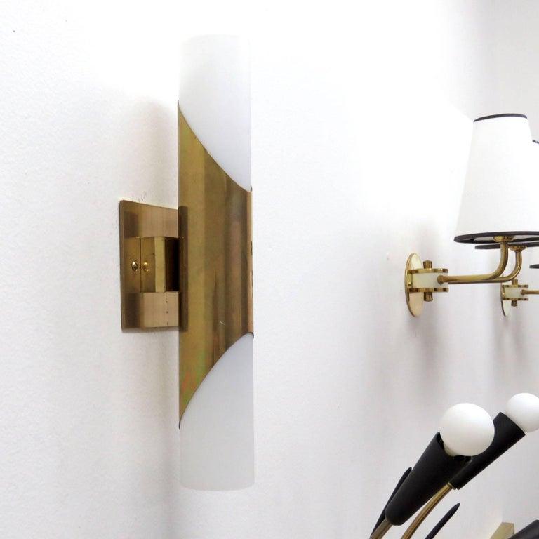 Mid-Century Modern Pair of Wall Lights by Neuhaus Leuchten For Sale