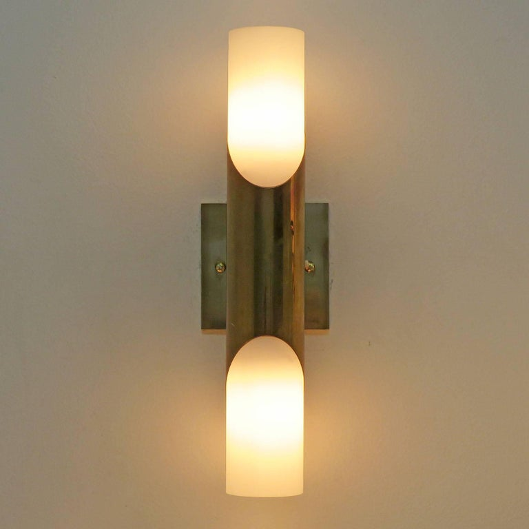 Late 20th Century Pair of Wall Lights by Neuhaus Leuchten For Sale