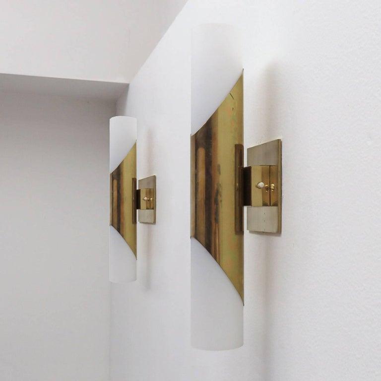 German Pair of Wall Lights by Neuhaus Leuchten For Sale