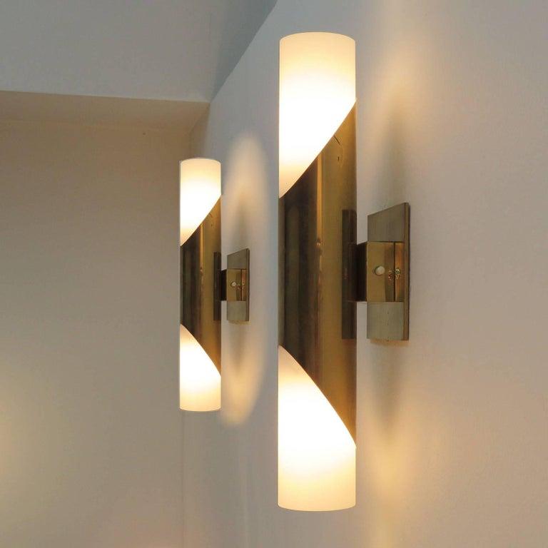 Pair of Wall Lights by Neuhaus Leuchten For Sale 2