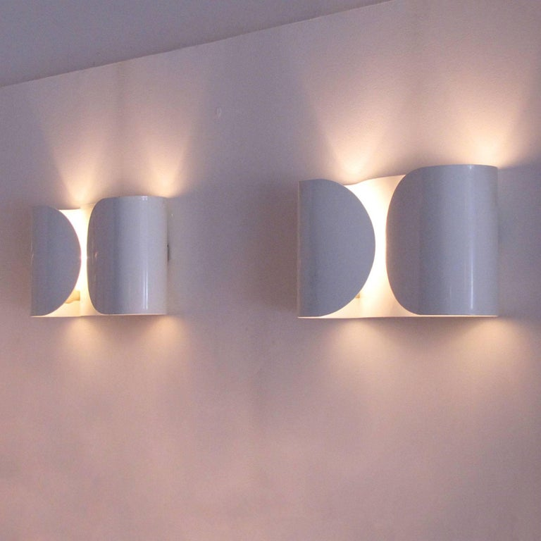 Tobia Scarpa, Foglio, Wall Lights For Sale 1