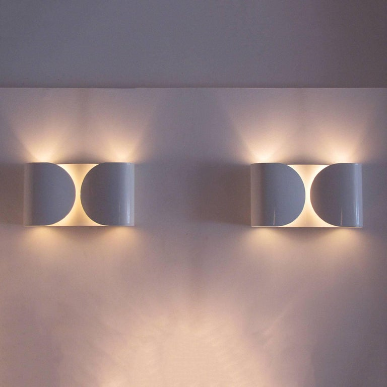 Tobia Scarpa, Foglio, Wall Lights For Sale 2
