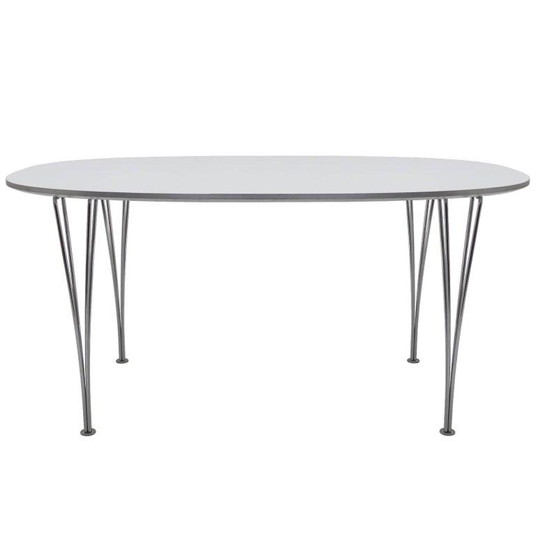 Super Ellipse Table by Piet Hein and Bruno Mathsson for Fritz Hansen