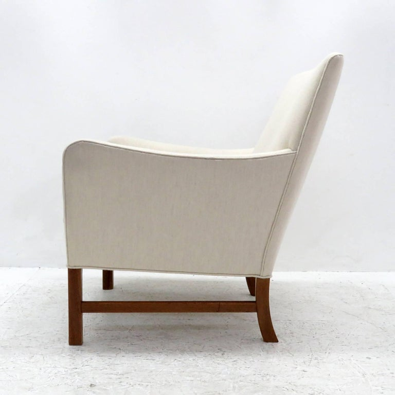 Danish Ole Wanscher Lounge Chair, 1960 For Sale