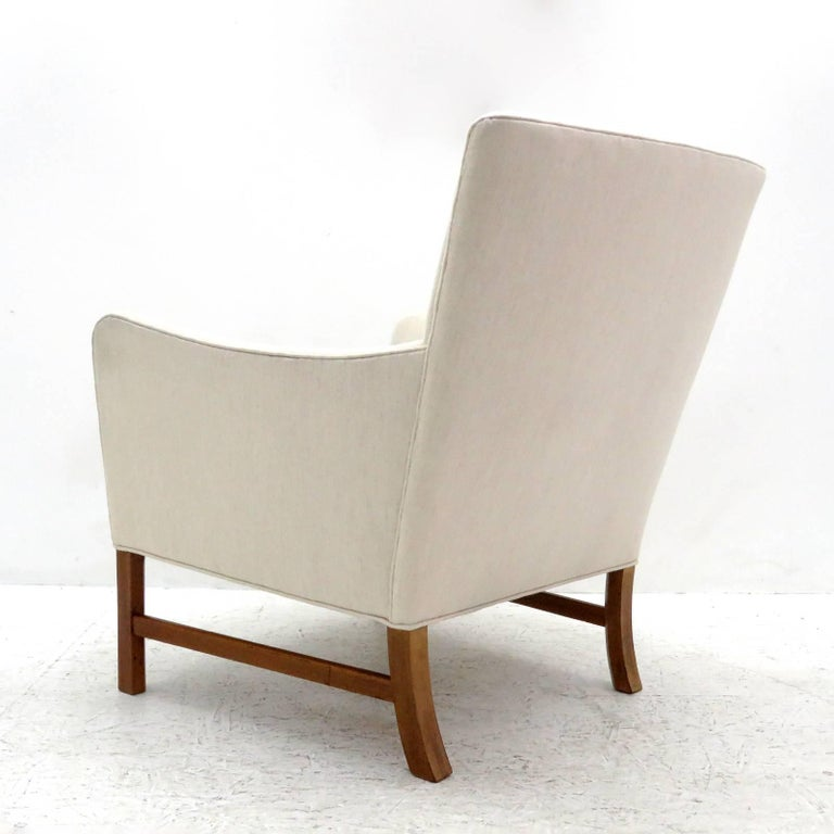 Ole Wanscher Lounge Chair, 1960 In Excellent Condition For Sale In Los Angeles, CA