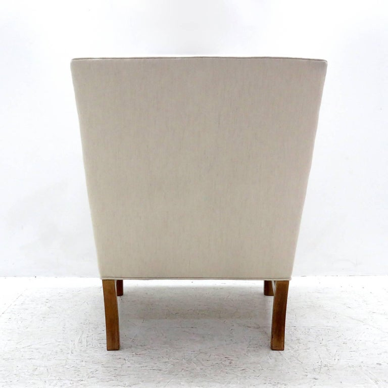 Mid-20th Century Ole Wanscher Lounge Chair, 1960 For Sale