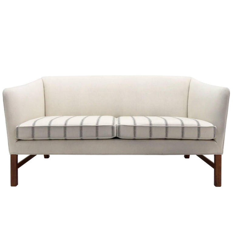 Ole Wanscher Settee, 1960 For Sale