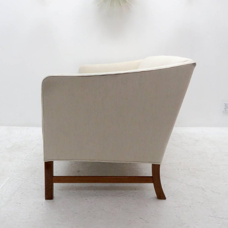 Ole Wanscher Settee, 1960 In Excellent Condition For Sale In Los Angeles, CA