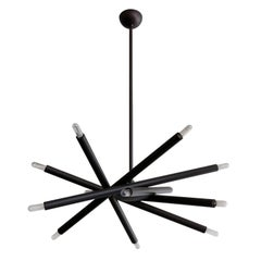 Spiral ML-6 Orb Chandelier