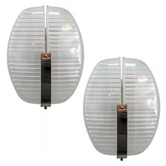 Pair of Vico Magistretti Wall Lights