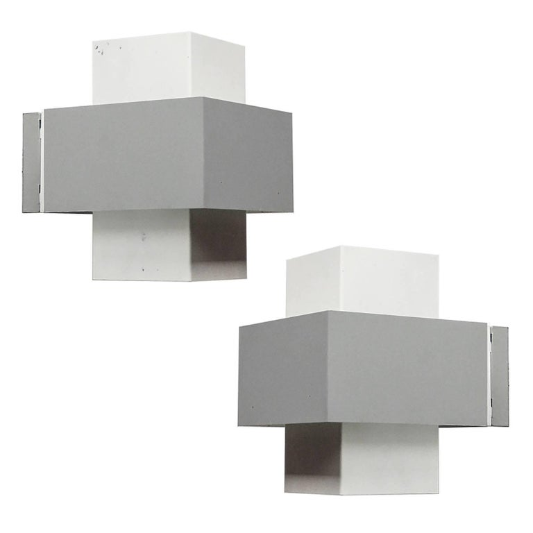 Pair of philips sconces at 1stdibs pair of philips wall lights aloadofball Choice Image