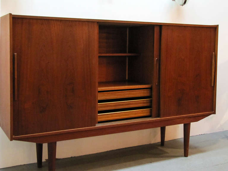 Swedish Teak Credenza by Royal Board For Sale 2