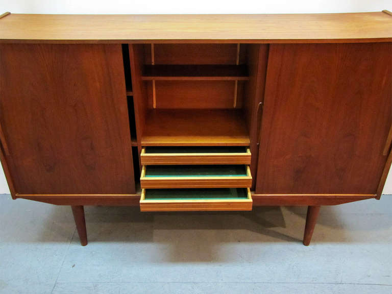 Swedish Teak Credenza by Royal Board For Sale 3