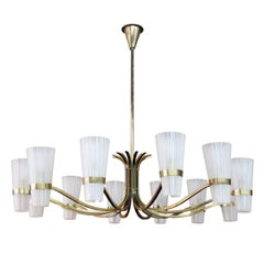 German Twelve-Arm Chandelier