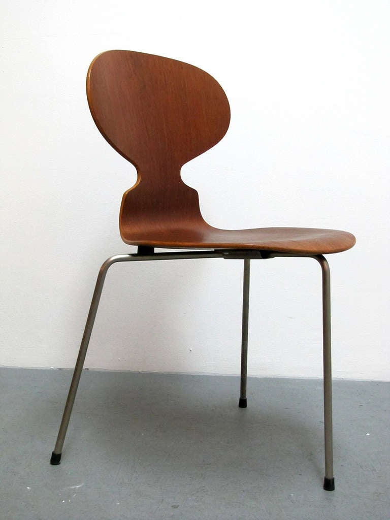 Mid-Century Modern Arne Jacobsen Ant Chairs For Sale