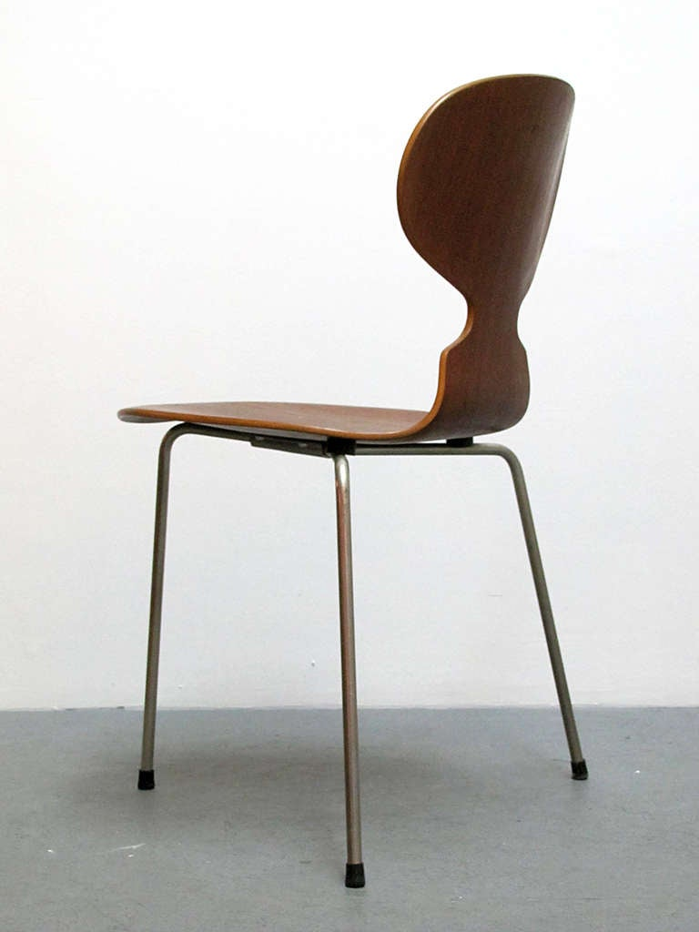 Danish Arne Jacobsen Ant Chairs For Sale