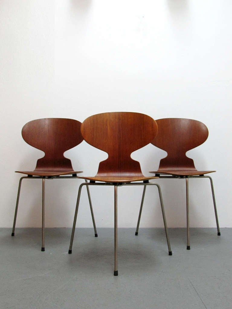 Arne Jacobsen Ant Chairs For Sale 1