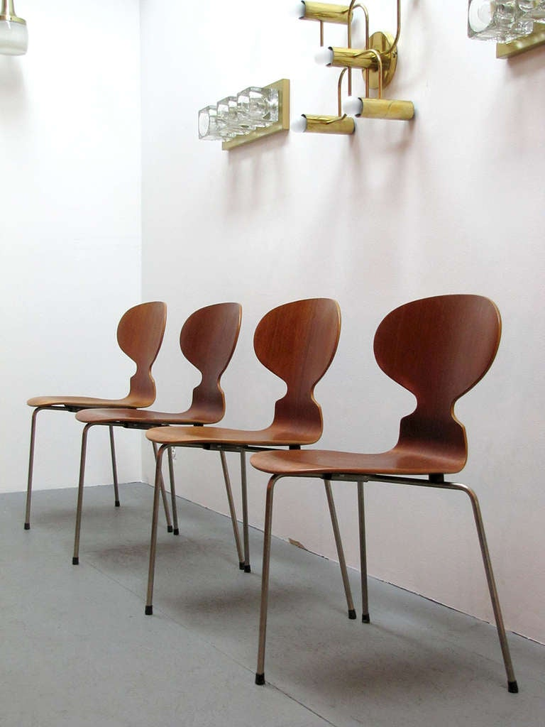 Arne Jacobsen Ant Chairs For Sale 2