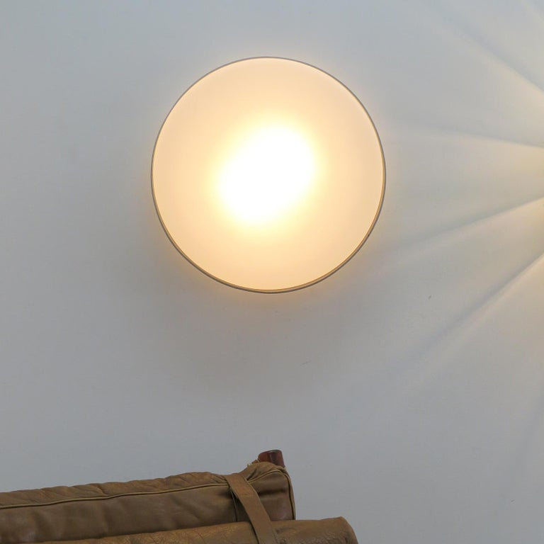 Late 20th Century Flush Mount Light by Kaiser Leuchten For Sale