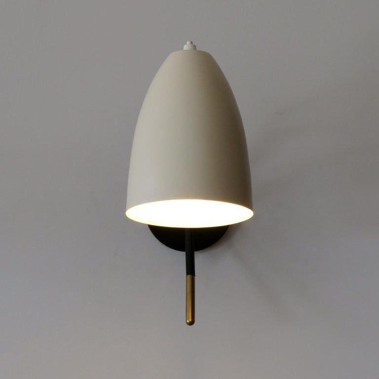 Brass Wall Lights 'L3GG' For Sale 1