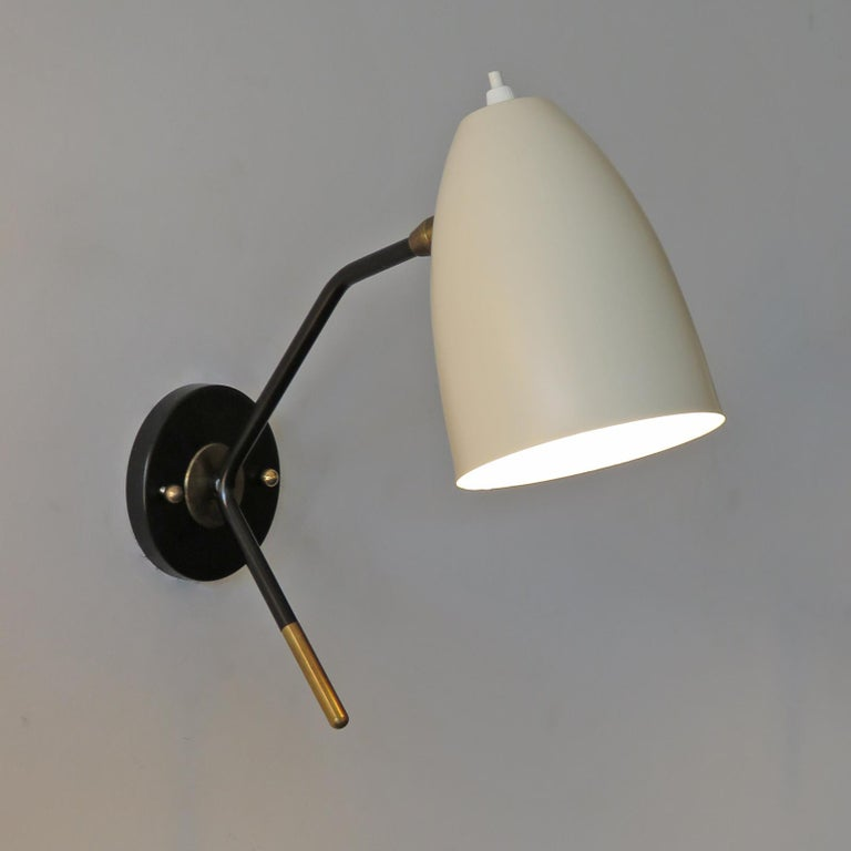 Brass Wall Lights 'L3GG' For Sale 2