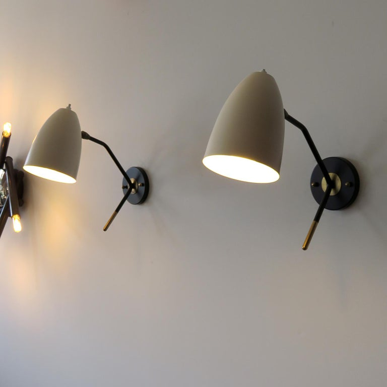 Brass Wall Lights 'L3GG' For Sale 3