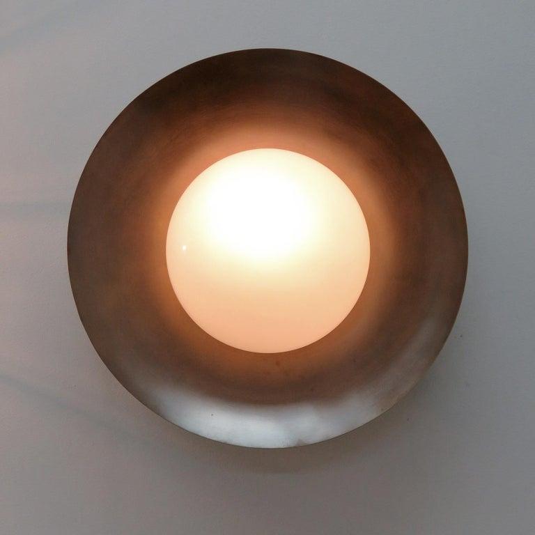 Opaline Glass Ceiling Light
