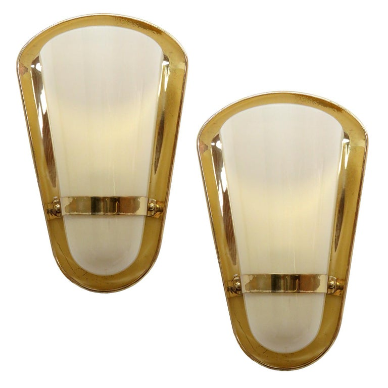 Pair of 1950s German Wall Lights