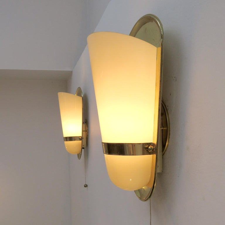 Pair of 1950s German Wall Lights For Sale 3