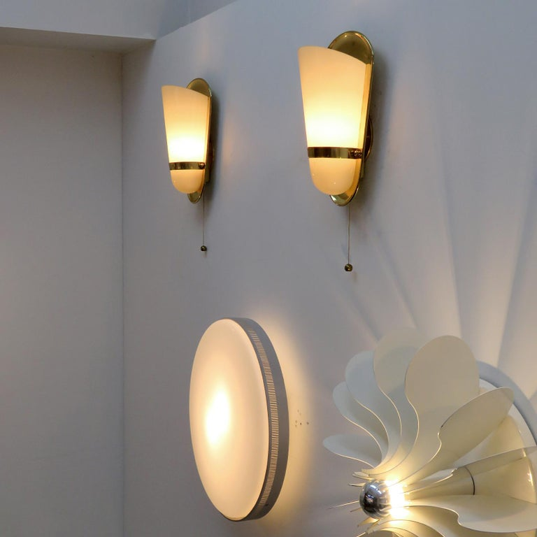 Pair of 1950s German Wall Lights For Sale 4