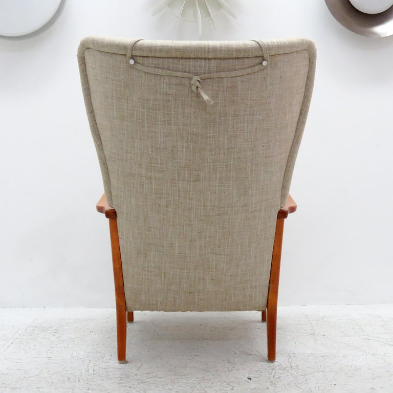 Mid-20th Century Danish Modern High Back Chair by Dux, 1940 For Sale