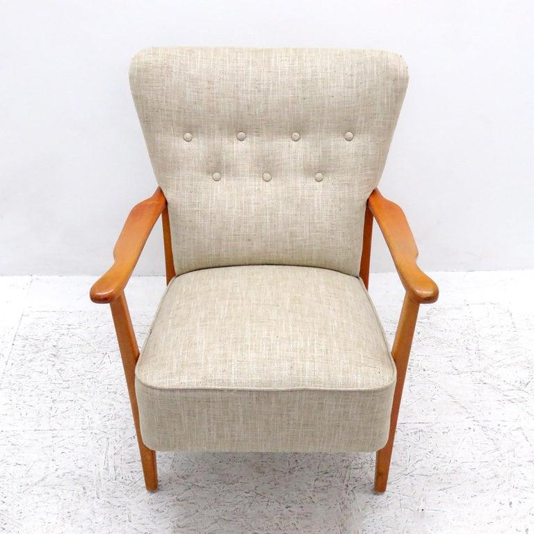 Scandinavian Modern Danish Modern Armchair by DUX, 1940 For Sale
