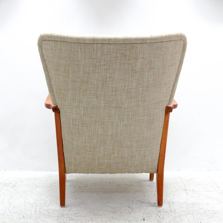 Beech Danish Modern Armchair by DUX, 1940 For Sale