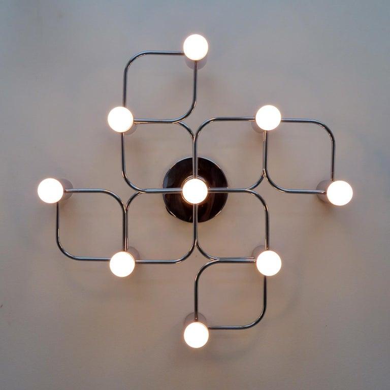 German Leola Flush Mount Light Fixture For Sale 1