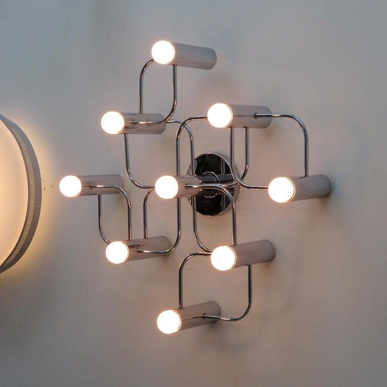 German Leola Flush Mount Light Fixture For Sale 2