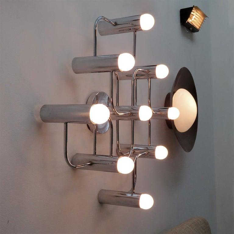 German Leola Flush Mount Light Fixture For Sale 3