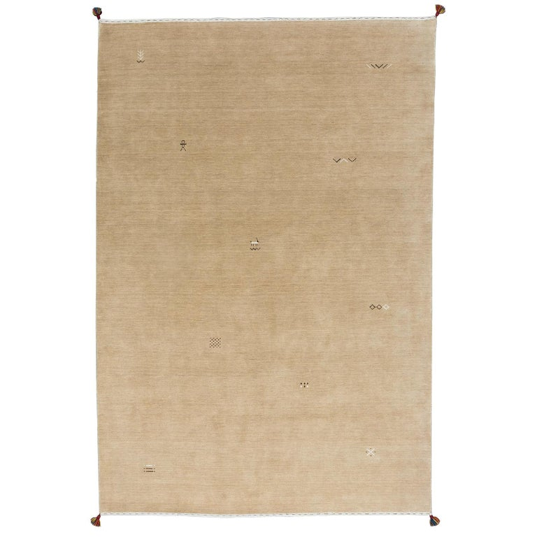 21st Century Persian Gabbeh Rug For Sale
